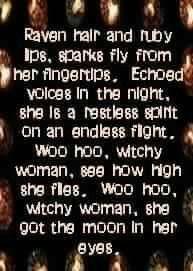 I love you devil, always witch hazel