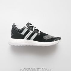 9a77492fd Adidas Y3 Pure Boost Black White