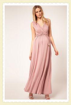 Vestido de festa para gestantes. - Blog Cantinho da Mamãe
