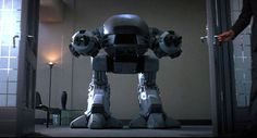 ED-209 and the Fear over Programmed Robotics. #Robots #Science #Technology