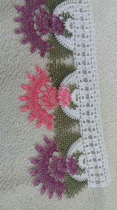 Havlu kenarı Crochet Lace Edging, Love Crochet, Filet Crochet, Woolen Craft, Corner To Corner Crochet, Photo Tutorial, Baby Knitting Patterns, Diy And Crafts, Stitch