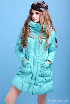 Retro clothes coats