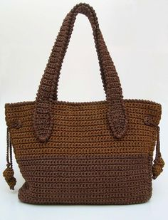 Two sizes bag pattern Crochet pattern by ChabeGS | Knitting Patterns | LoveKnitting