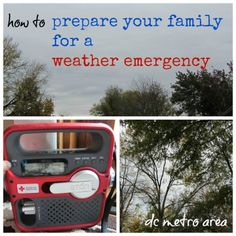 prepare your family for weather emergency *great suggestions i've never read anywhere else*