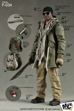 onesixthscalepictures: MC Figure Toys THE END WALKER : Latest product news for 1/6 scale figures (12 inch collectibles) from Sideshows Colle...