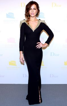 Kate Beckinsale in Christian Dior attends the Dior Guggenheim International Gala in N.Y.C.#bestdressed