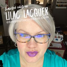 Limited Edition Lilac Lacquer LipSense by SeneGence is a cool color. You can view it on people, look at combos or comparisons or even in a collage.  However, nothing rivals seeing it on a real person.  Click to purchase yours NOW!  #lipsense #senegence Winter Makeup, Fall Makeup, Cosplay Makeup, Costume Makeup, Beauty 101, Beauty Hacks, Makeup Ideas, Makeup Tips, Theatre Makeup