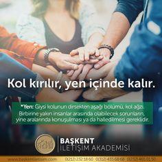 Kol kırılır, yen içinde kalır. Yen: Giysi kolunun dirsekten aşağı bölümü, kol ağzı. Birbirine yakın insanlar arasında olabilecek sorunların, yine aralarında konuşulması ya da halledilmesi gereklidir. (Kaynak: Instagram - baskentiletisim) #türkçe #türkçedili #bilgi #kelime #kelimeler #anlam #özet #kökeni #güzel #güzelkelimeler #bazıkelimelerçokgüzel #lügat #doğrutürkçe Turkish Language, Karma, Poems, Study, Education, Instagram Posts, Quotes, Qoutes, Poetry