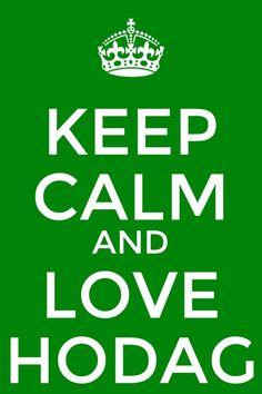 Keep calm and love hodag