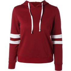 Sports Color Block Hoodie ($25) ❤ liked on Polyvore featuring tops, hoodies, color block hoodie, sport hoodie, sweatshirt hoodies, colorblock top and color block hoodies