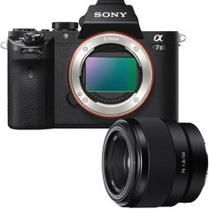 Sony - Alpha a7 II Full-Frame Mirrorless Camera with 50mm Prime Lens
