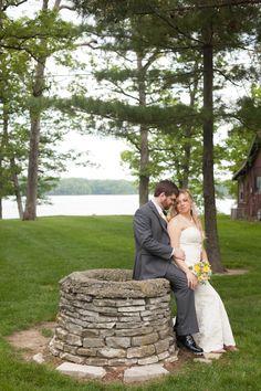 wedding by the lake  wedding photography    Lake bloomington, Hudson Illinois