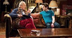 Ian McKellen Auditions for Downton Abbey W/ Iwan Rheon on Vicious . Iwan Rheon, Out Magazine, The Boy Next Door, Ian Mckellen, Hbo Series, Episode 3, Misfits, Girls Dream, Downton Abbey