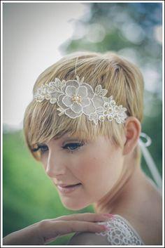 LOVE this! :)   Primrose flower lace vintage beaded bridal sash wedding dress sash wedding accessories in blush pink ivory or gold Debbie Carlisle www.dcbouquets.co.uk.jpg