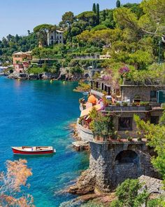 In Portofino, Italy. Portofino Italy, Beau Site, Beautiful Places To Travel, Travel Aesthetic, Dream Vacations, Italy Travel, Beautiful Landscapes, Places To See, Travel Inspiration