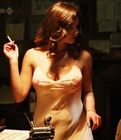 dancing on the edge- jenna louise coleman as Rosie Williams. Inspiration for Marianne's teddy.
