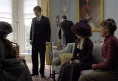 Yellow and Gray - Downton Abbey - Crawley House