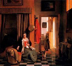 La madre (1660) Pieter de Hooch