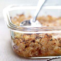 Croustillants de quinoa au chou-fleur et au comté