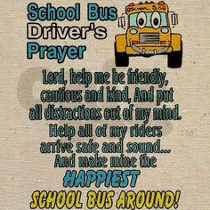 School Bus Safety, School Bus Driver, School Buses, Bus Driver Appreciation, Teacher Appreciation, Bus Driver Gifts, Wheels On The Bus, Out Of My Mind, Plastic Canvas Patterns