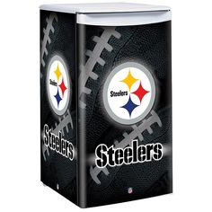 NFL Counter Top Height Fridge - Pittsburgh Steelers