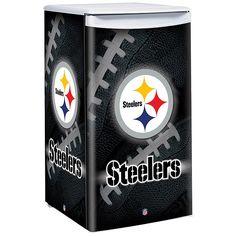 NFL Counter Top Height Fridge - Pittsburgh Steelers