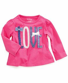 First Impressions Baby Girls' Appliqued Top
