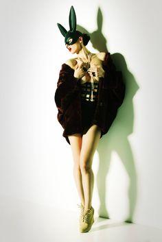 lapin sensuelle.  Photographer: George Mario