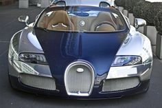 If you want to show off, the Veyron Sang Bleu is a good way to go. It's also tough...this is the only one in the world.