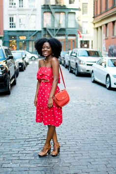 afro. dress. modest clothing. natural hair. beauty. dark skin. fashion. style. leather bags.