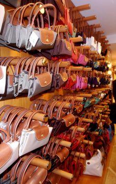 Shop For Portable Longchamp LM Bags DarkOrange