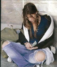 homeless women in America