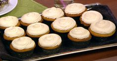the chew | Recipe  | Elisabeth Hasselbeck's Orange Cream Cupcakes