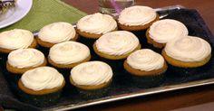 the chew | Recipe  | Elisabeth Hasselbeck's Orange Cream Cupcakes