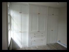 Break front wardrobe by jdwoodwork.co.uk Decor, Furniture, Woodworking, Wardrobes, Home Decor, Armoire, Custom Woodworking