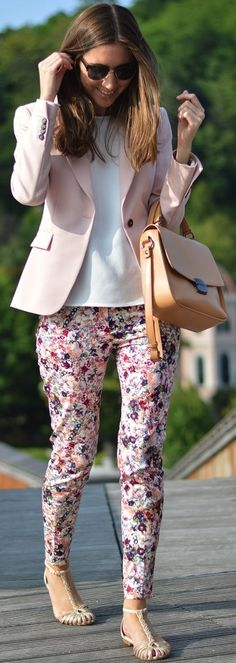 Chic Spring Work Outfits Look Outstanding 35 Spring Work Outfits, Fall Outfits, Casual Outfits, Cute Outfits, Fashion Outfits, Looks Style, Casual Looks, Work Fashion, Fashion Looks