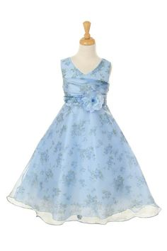 http://childrensdressshop.com/home/147-organza-print-flower-girl-dress-in-blue.html  floral print organza dress