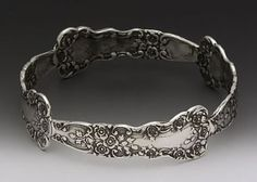 Fork and Spoon Jewelry by onelookermaster, via Flickr