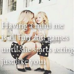 48 Mother Daughter Quotes To Make You Laugh & Cry - Rookie Moms Daughter Quotes Funny, Mom Quotes From Daughter, Mommy Quotes, I Love My Daughter, My Beautiful Daughter, My Baby Girl Quotes, Cute Baby Quotes, Mother Daughters, Zeina