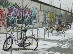 Berlin wall in the winter times