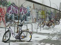 Berlin wall in the winter times