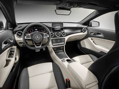 the Mercedes-AMG will be offered with the identical with an astonishing 375 Mercedes-Benz GLA Release date and price. Mercedes Benz C300, Mercedes Gla 250, New Mercedes, Mercedes Benz Interior, Benz Car, Mercedez Benz, Luxury Cars, Dream Cars, Detroit