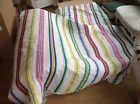 Ikea twin/full Comforter Bright Stripes