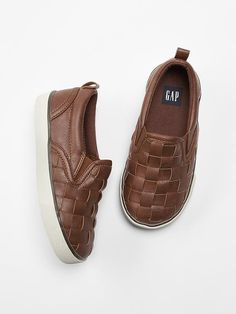Woven slip-on sneakers Product Image
