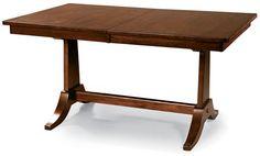 Cochrane Uptown Solid Mahogany Trestle Table - $512
