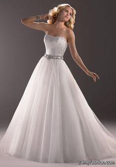 Nice Kleinfield wedding dresses 2018-2019 Check more at http://myclothestrend.com/dresses-review/kleinfield-wedding-dresses-2018-2019/