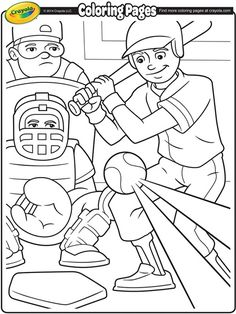 Celebrate baseball season with these fun coloring pages to brighten up any room!