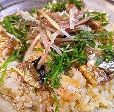 remake焼鯖干物の混ぜご飯