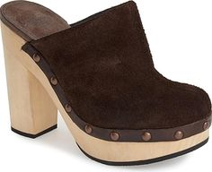 b01ef88a3e99b Woolrich Women s Shoes in Chocolate Color. Cozy wool woven in the USA and  studded leather