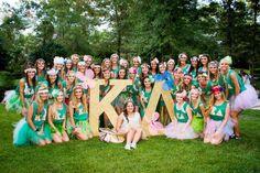 The new pledge class on bid day! Kappa Delta Beta Sigma